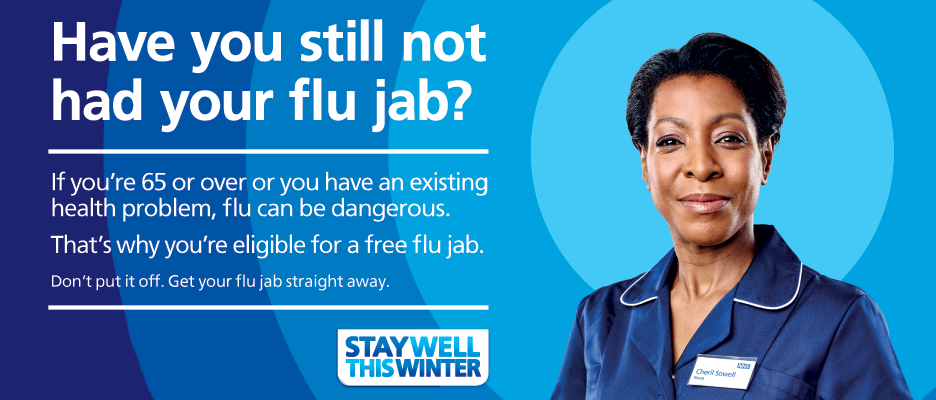 Stay Well This Winter - Have you had your flu jab?