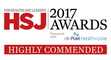 health service journal logo highly commended